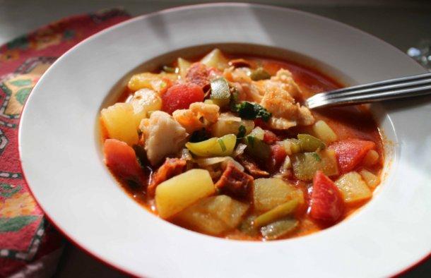 Portuguese Style Fish Chowder Recipe