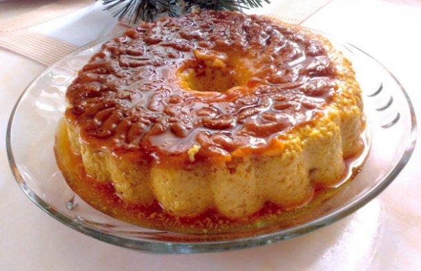 Portuguese Coffee Flan (Pudding) Recipe - Portuguese Recipes