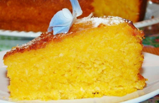 Portuguese Sweet Potato & Coconut Cake Recipe