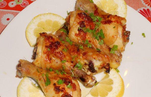 Portuguese Chicken with Butter & Garlic Recipe - Portuguese Recipes