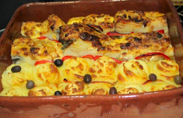 Portuguese Baked Cod with Mayonnaise Recipe