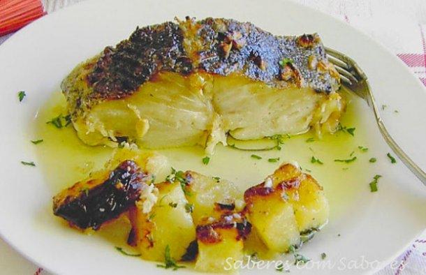 Portuguese Roasted Cod with Milk Recipe - Portuguese Recipes