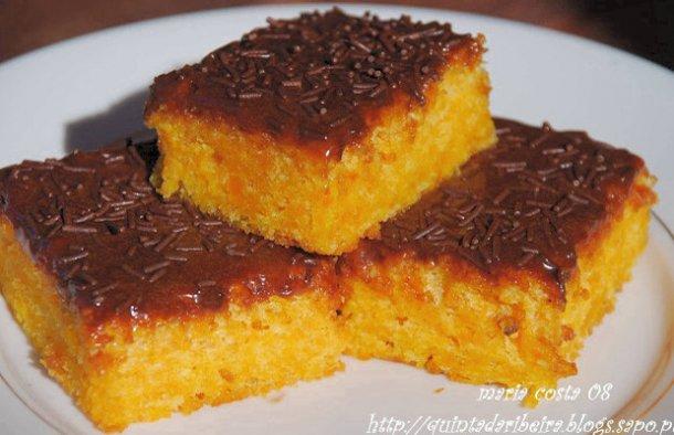 Portuguese Carrot Squares Recipe - Portuguese Recipes
