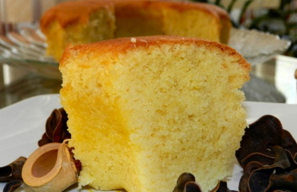 Portuguese Moist Coconut & Milk Cake Recipe