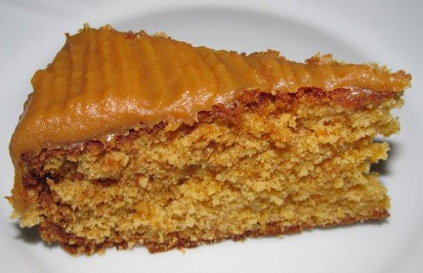 Caramel & Walnut Cake Recipe - Portuguese Recipes