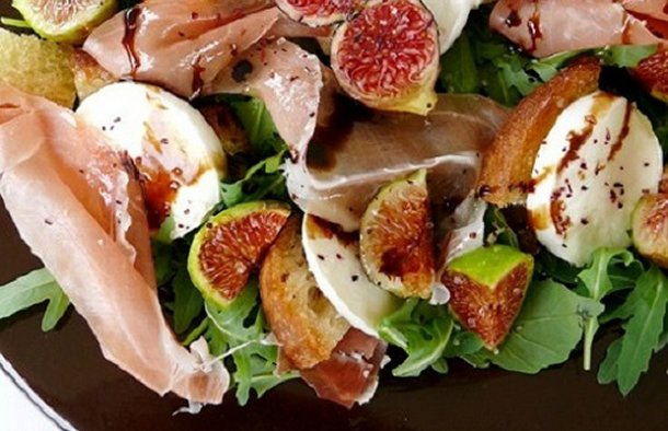 Portuguese Smoked Ham & Fig Salad Recipe