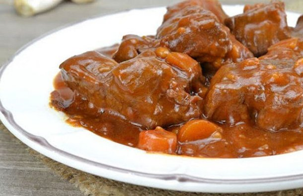 Portuguese Braised Veal Recipe