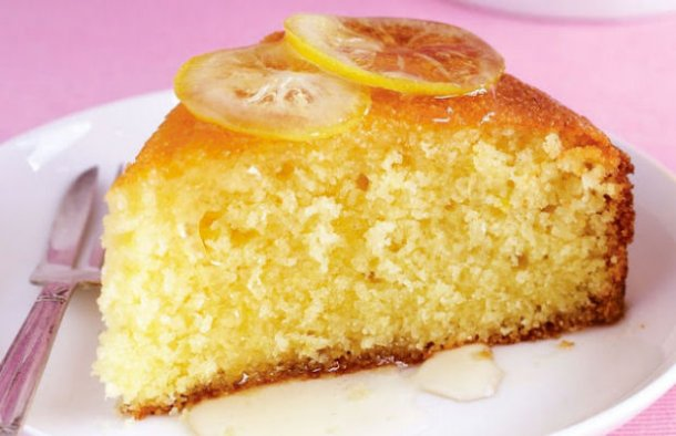 A delicious Portuguese style simple lemon cake (bolo de limão simples) that is easy to make and very moist.