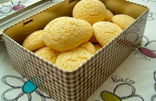 Portuguese Lemon Cookies Recipe - Portuguese Recipes