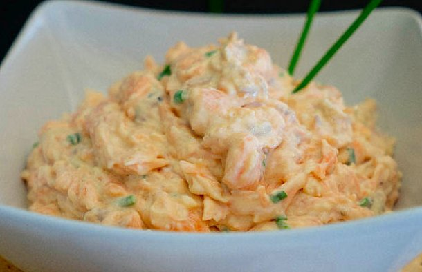Portuguese Salmon Pate Spread Recipe - Portuguese Recipes