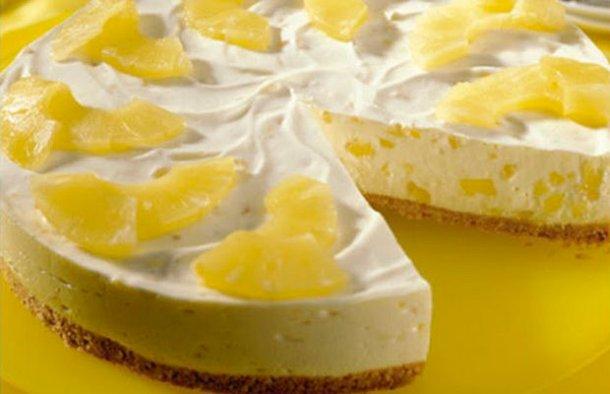 Portuguese Yogurt & Pineapple Dessert Recipe
