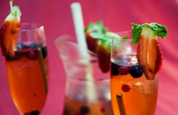 Portuguese Wild Berries & Champagne Sangria Recipe