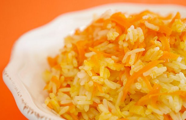Portuguese Carrot Rice Recipe