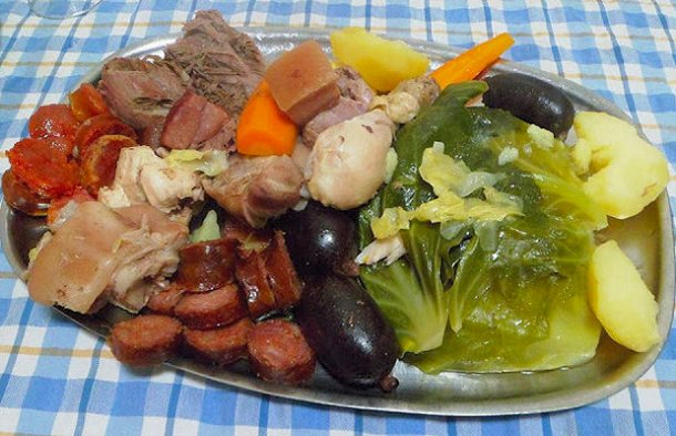 Portuguese Cozido (Boiled Meal) Recipe