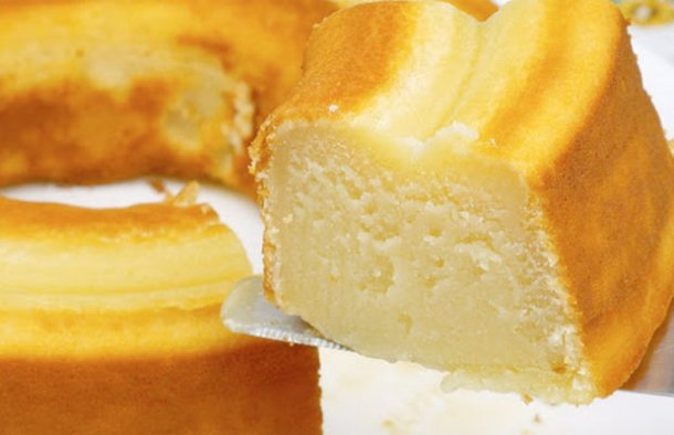 Simple Moist Milk Cake Recipe - Portuguese Recipes