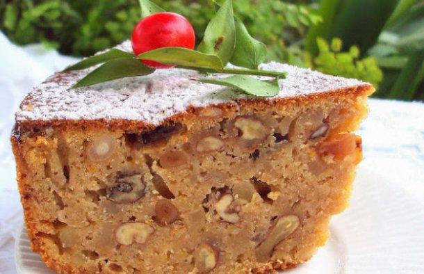 Portuguese Style Christmas Cake Recipe - Portuguese Recipes