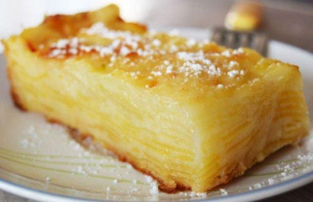 Portuguese Apple & Pear Cake Recipe