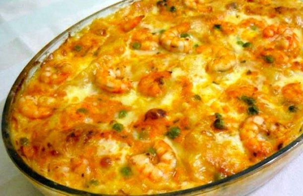 Portuguese Style Shrimp Stroganoff Recipe - Portuguese Recipes