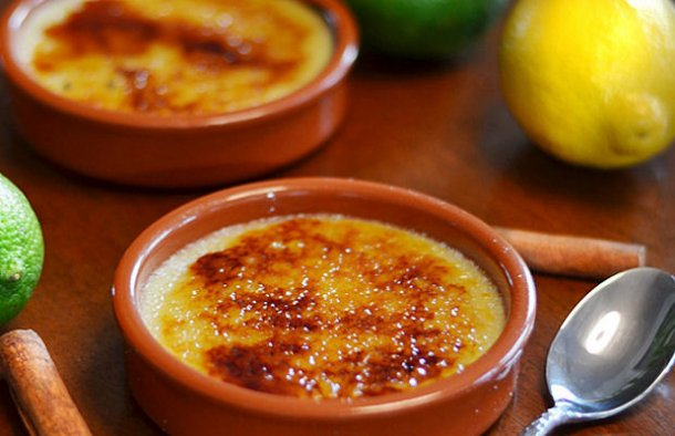 Portuguese Lemon Leite de Creme Recipe