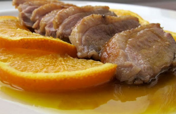 Portuguese Style Orange & Honey Duck Recipe