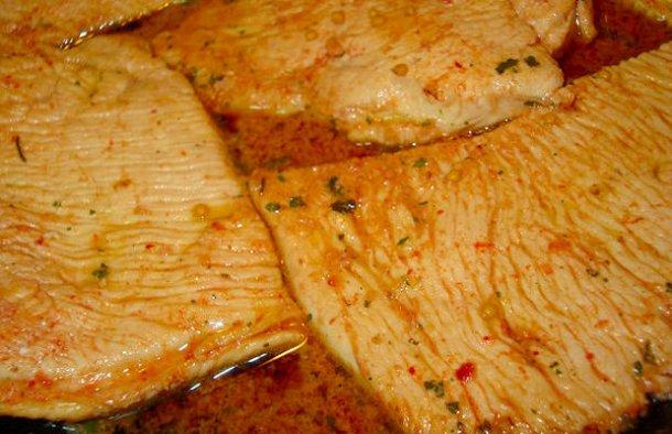Portuguese Turkey Steaks Recipe