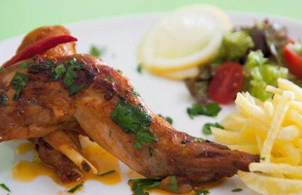 Portuguese Hot Fried Rabbit Recipe