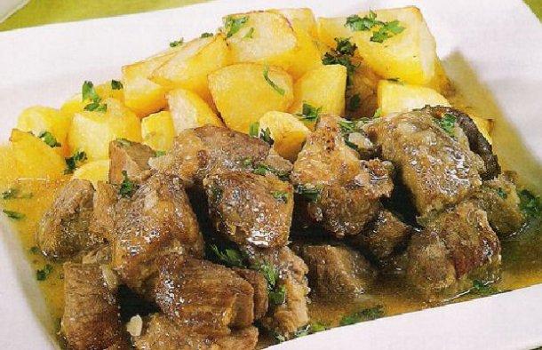 Portuguese Fried Pork Rojões Recipe