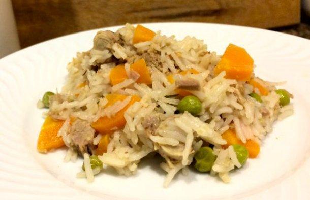 Portuguese Carrot Rice with Tuna Recipe