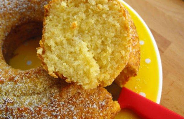 Portuguese Coconut & Apple Cake Recipe