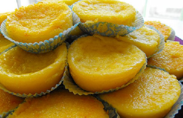 Portuguese Simple & Quick Orange Tarts Recipe