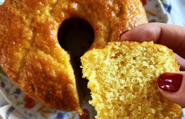 Portuguese Easy & Fluffy Orange Cake Recipe