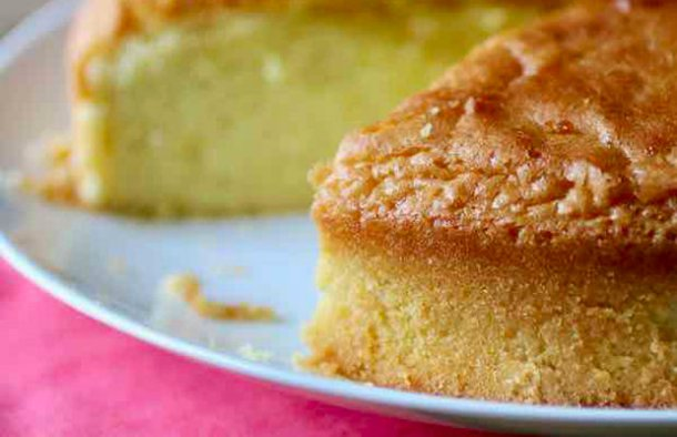 Portuguese Sponge Cake (Pão de Ló) Recipe