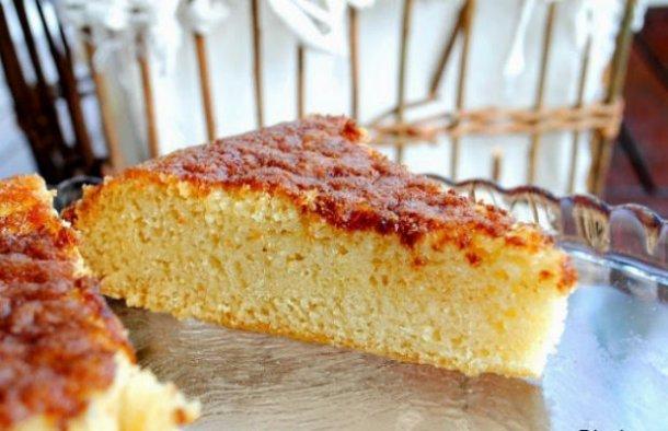 Portuguese Simple Vanilla Cake Recipe