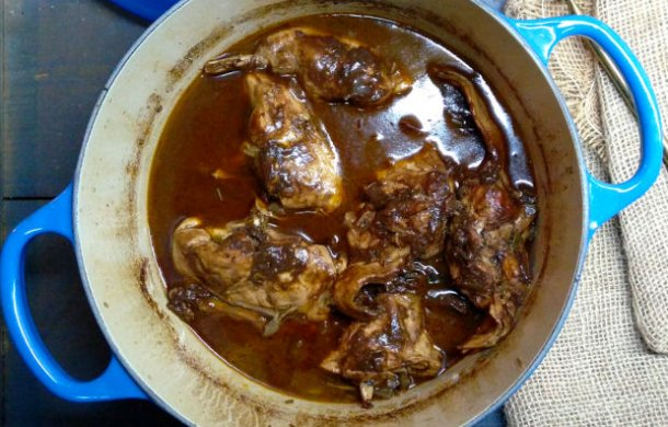 Portuguese Stewed Rabbit Recipe
