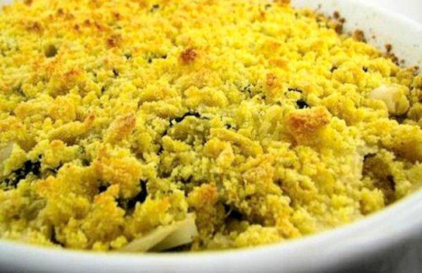 Portuguese Bacalhau com Broa de Milho Recipe