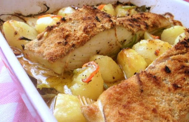 Portuguese Maria Teresa Cod Recipe - Portuguese Recipes