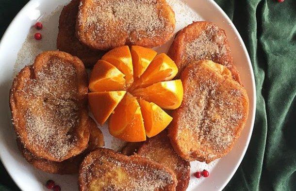 Portuguese Orange Rabanadas (Toast) Recipe