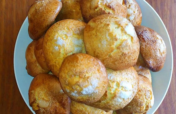 Portuguese Muxagata Biscuits Recipe - Portuguese Recipes