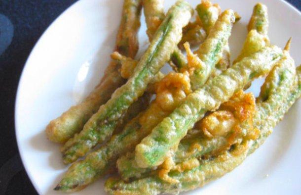 Portuguese Fried Green Beans Recipe
