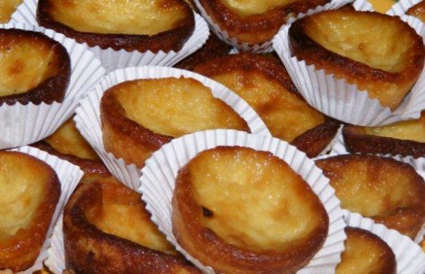 Portuguese Milk Tarts Recipe - Portuguese Recipes