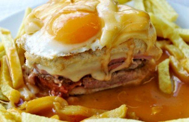 Classic Porto Francesinha Sandwich Recipe - Portuguese Recipes