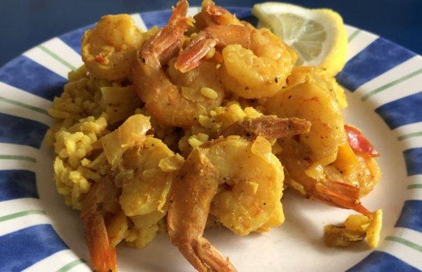 Easy Shrimp Mozambique Recipe - Portuguese Recipes